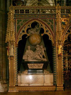 Isaac Newton Grave