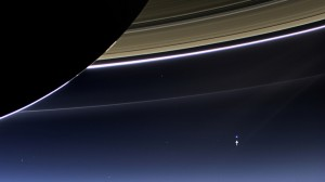 Cassini Saturn Earth