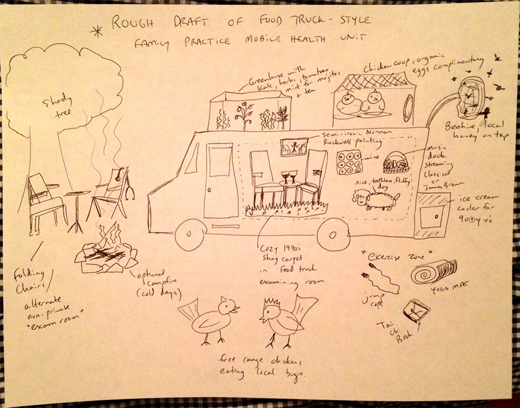 doctor food truck idea