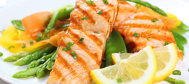 grilled salmon healthy